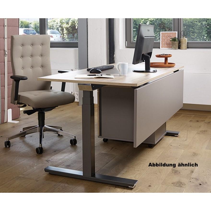Schreibtisch Weiss Holz 2021