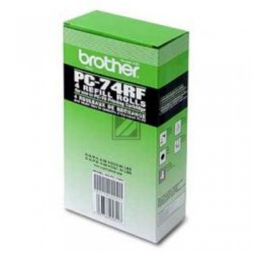 Brother PC- 74RF Thermotransferrolle 4er-Pack
