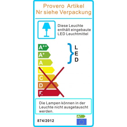 LED DeLux Stehleuchte 80 W 4000K inkl. Anwesenheits- und Tageslichtsensor, dimmbar silber
